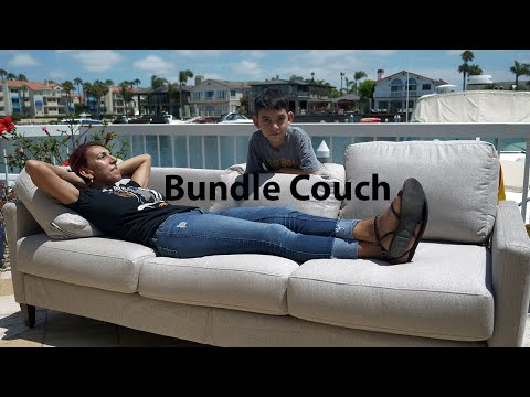 Bundle Couch Review (the first portable 3 seat couch sent directly to your door)