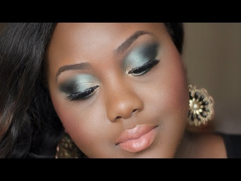 Elegant Emerald Evening Look with Fashion Fair| Chanel Boateng ...