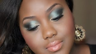 Elegant Emerald Evening Look with Fashion Fair| Chanel Boateng Thumbnail