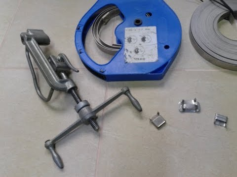 Машинка для крепежа ленты СИП