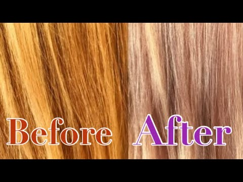 Is toner the best option for orange hair