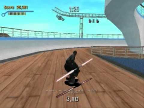 Tony Hawk39s Pro Skater 3  Cruise Ship Career Mode Quick