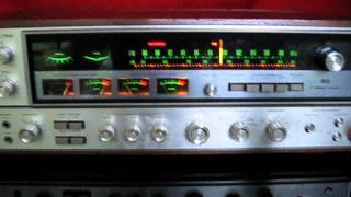 Sansui QRX-7500 Quad receiver demonstration