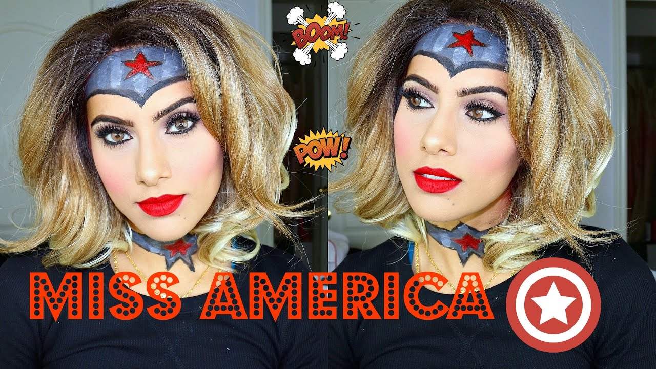 image Captain america miss america cosplay