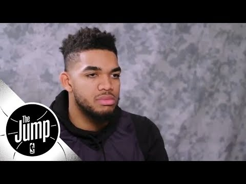 [FULL] Karl-Anthony Towns talks inspiration in one-on-one with Rachel Nichols | The Jump | ESPN