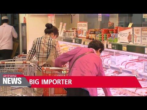 EU agri-food exports to Korea soar 26.1 pct. on-year