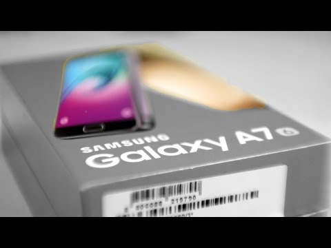 Samsung Galaxy A7 2016 - Unboxing & Hands On!