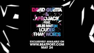 David Guetta & Afrojack ft Niles Mason - Louder Than Words - Teaser