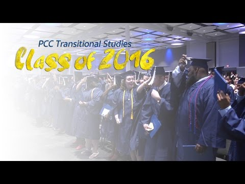Transitional Studies Graduation 2016