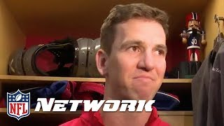 eli manning s emotional response to benching it s been a hard day to handle this   nfl network