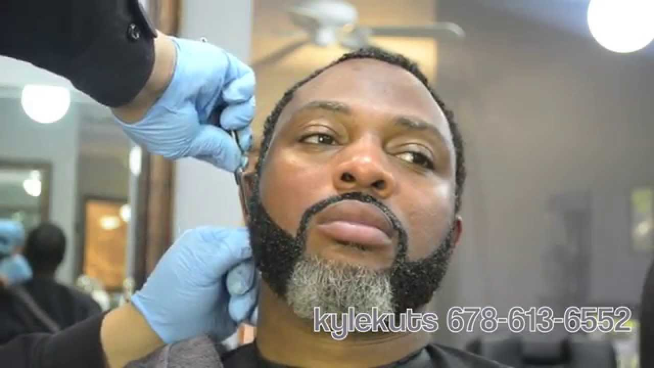 GREY COVERAGE STYLE BEARD @kylekuts.com - YouTube