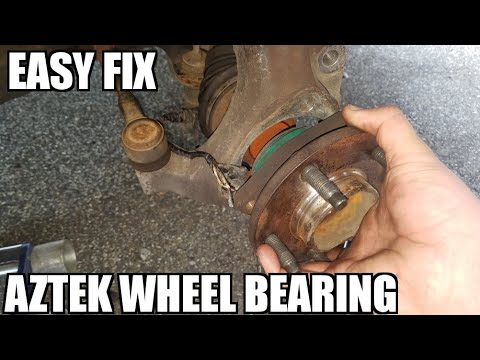 How to Replace a Wheel Bearing on a 2000-2005 Pontiac Aztek