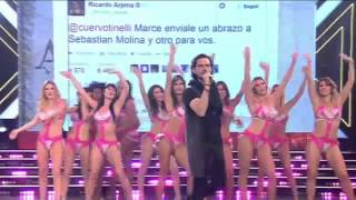 El imitador de Ricardo Arjona en Showmatch se llama Sebastian Molina