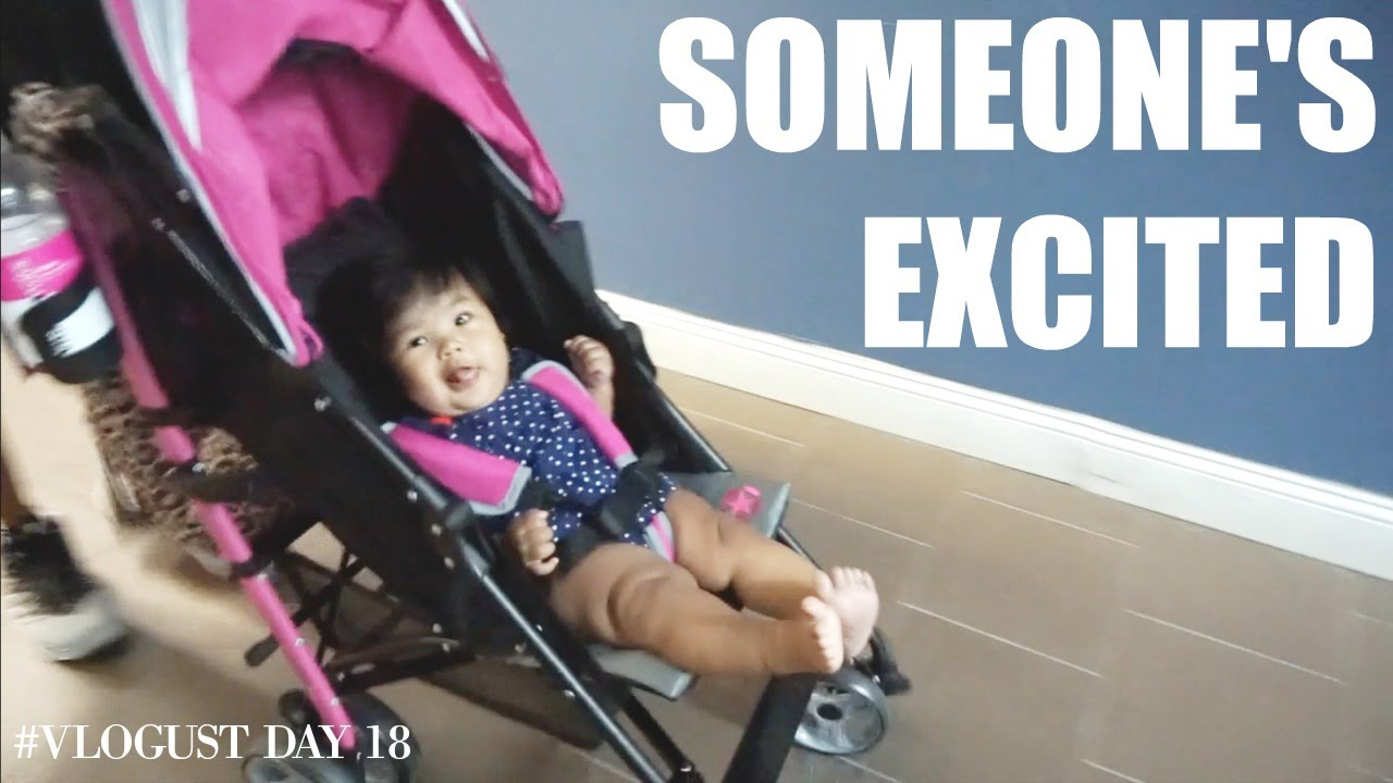 Someones Excited Vlogust Day 18 Teamyniguezvlogs 191d Youtube