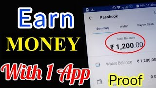 EARN money WITH PROOF FROM ONE APP | LATEST TRICKS thumbnail