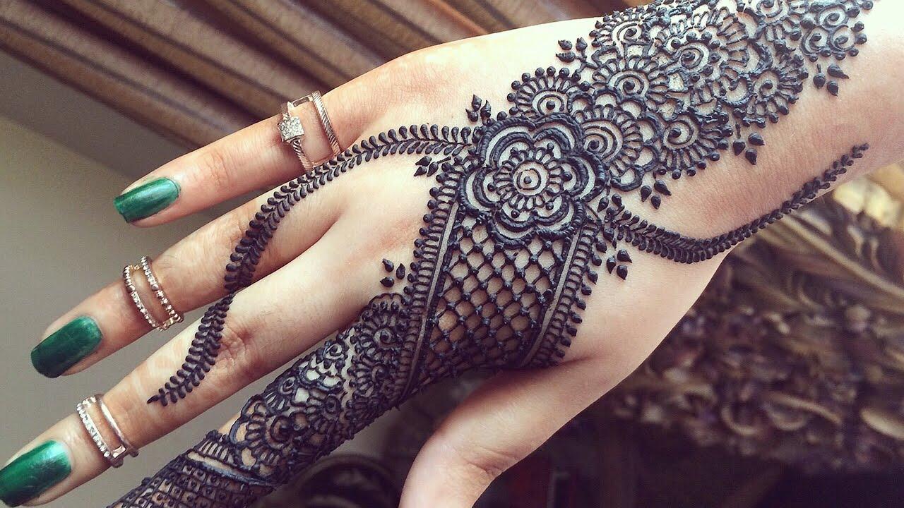 Diy Mehndi Designs : Diy henna designs how to apply easy simple new stylish