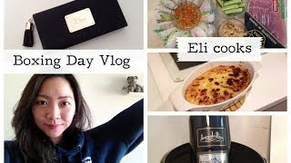 Boxing Day Vlog Feat. Eli Cooks Mashed Potatoes & Vietnamese Roll