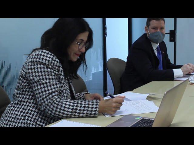 Fondation MAScIR - Signature d'un partenariat avec l'Université de Moncton au Canada