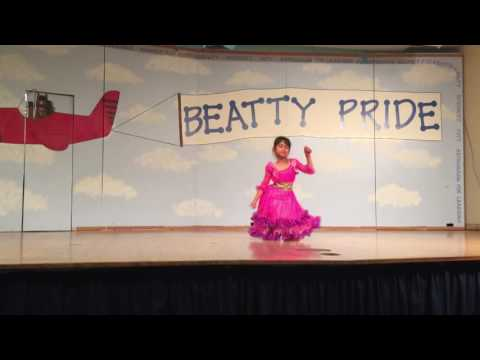Jai Ho Hollywood Bollywood Fusion Pussycat Dolls English version dance steps Kids Beatty Talent Show