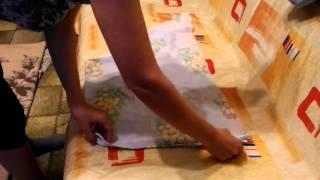 Как завязать венгерскую пеленку(Видео о том, как можно завязать венгерскую пеленку. Для этого нужен кусок ткани или марли 80 х 80 см. Можно..., 2016-04-17T11:11:53.000Z)
