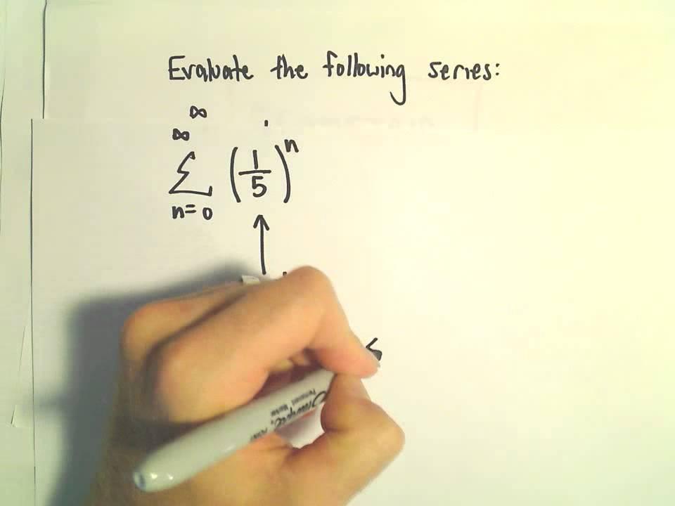 Sum of an Infinite Geometric Series, Ex 1