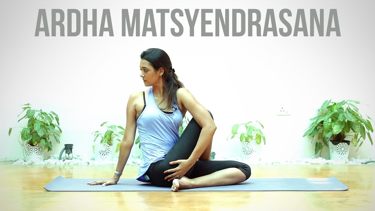 Image result for Ardha Matsyendrasana