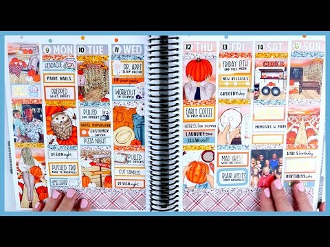 Memory Plan With Me! | Cider Lane by Glam Planner