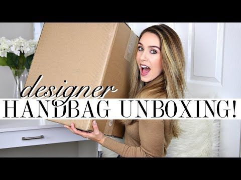 UNBOXING DESIGNER HANDBAG FROM EBAY!  What could it be?!