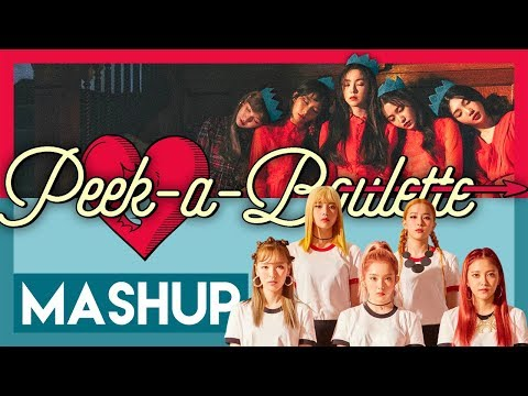 Red Velvet - Peek-a-Boulette (mashup)