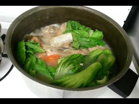Salmon Head Stew : Hot and Sour Soup Filipino Food: Mom in The Kitchen ...
