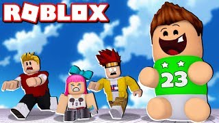 I BECOME in the BIGEST BABY OF ROBLOX !!