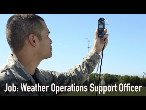 Weather Operations Support Officer