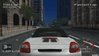 Metropolis Street Racer Gameplay (Dreamcast) [HD]