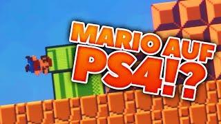 MARIO AUF PLAYSTATION 4?! | DREAMS EARLY ACCESS ☆ ▻ Abonniert mich ...