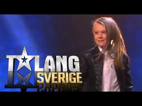 Linnea Andersson - Flytta på dig | Talang Sverige