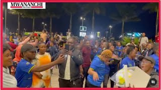 VIDEO: Twiga Stars arrive home after winning the COSAFA women's Championship on Saturday October 9