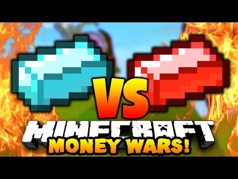 "Minecraft MONEY WARS ""EPIC 2V4 BATTLE!!"" #21 w/ PrestonPlayz & Landon"