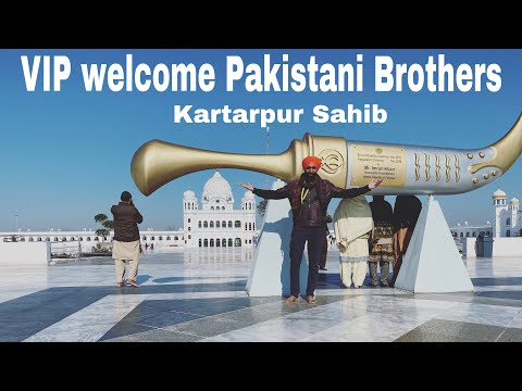 PAKISTAN Kartarpur VIP welcome by Fans ( Gurudwara Sahib ) PAKISTAN | VLOG