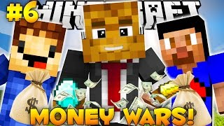 "Minecraft MONEY WARS ""TAKE ALL THE DIAMONDS"" #6 w/ Vikkstar & Woofless"