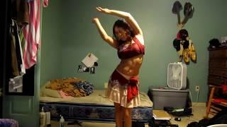 Hot American Girl Performing Nagin Style Dance | Hot Dance | Hot American Dance