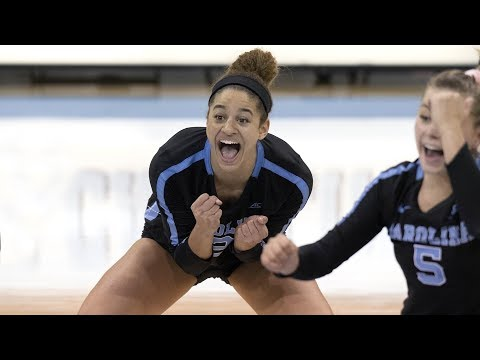 UNC Volleyball: Carolina Drops Boston College, 3-0