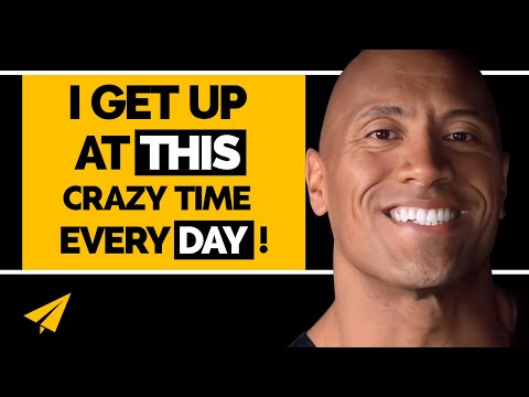 Dwayne 'The Rock' Johnson's Top 10 Rules For Success (@TheRo