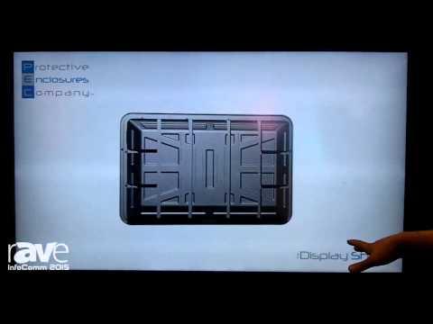 InfoComm 2015: Protective Enclosures Company Highlights TV Shield and Display Shield Enclosures