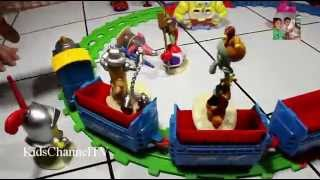 Spongebob Squarepants And Thomas Train Kids Toys