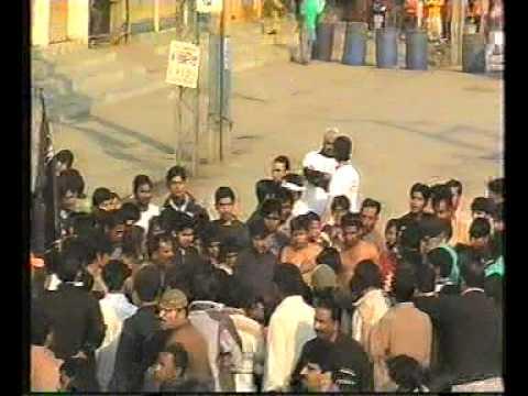 Markazi Imam Bargah Dar e Hussain a s  Daska City jaloos 10 Muharram 2009 Part 4