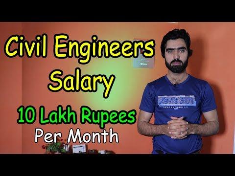 Civil Engineers Salary - Civil Engineering Basic Salary - Monthly Salary Of Civil Engineers