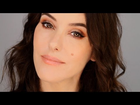 Quick Glam Makeup  - Copper Smokey Eye
