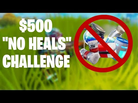 Winning a Game with No Healing for $500
