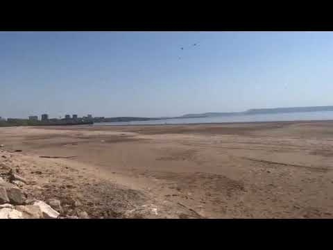 В Тольятти берег Волги «ушел» почти на полкилометра
