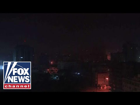Israel strikes Gaza after rockets target Tel Aviv